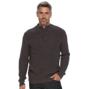 Men's Croft & Barrow® Classic-Fit Outdoor Waffle-Weave Sweater